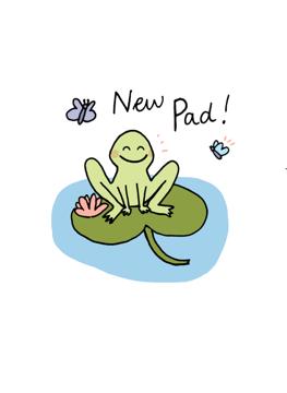 New Pad!
