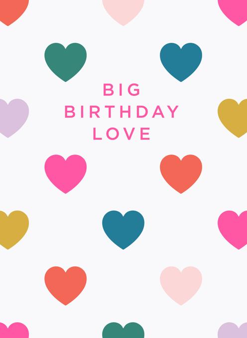 Big Birthday Love