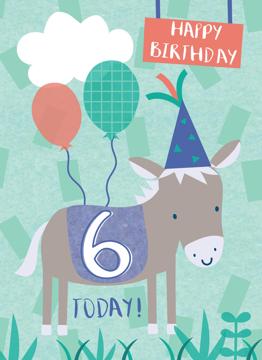 Six Today Donkey