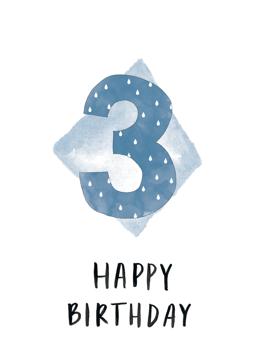 3rd Birthday Boy