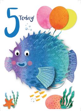 Age 5 Puffer Fish