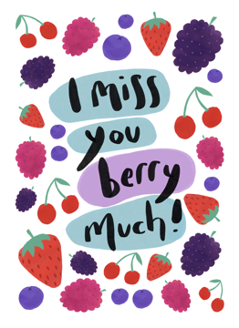 Miss You Berry Much