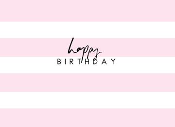 HB Pink Stripes