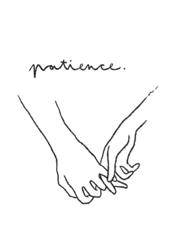 Holding Hands - Patience