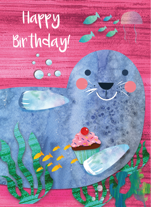 Seal Happy Birthday