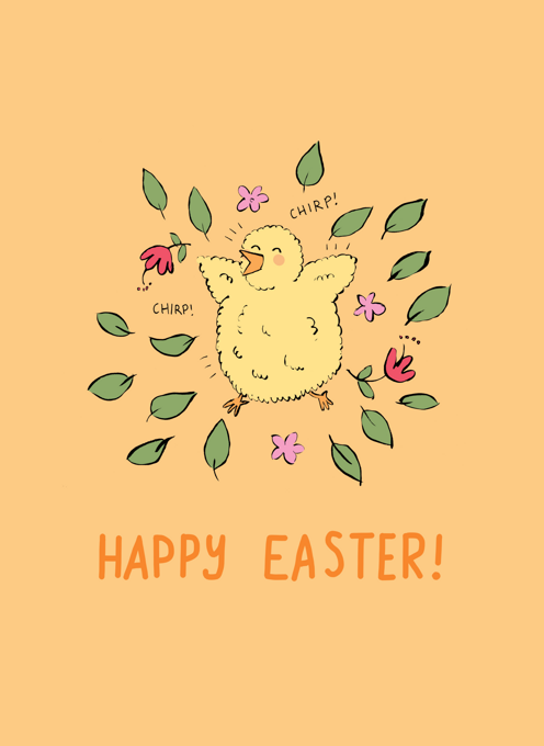 Little Chick Happy Easter!