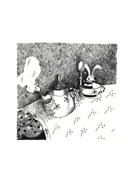 Rabbit In Tea Cup