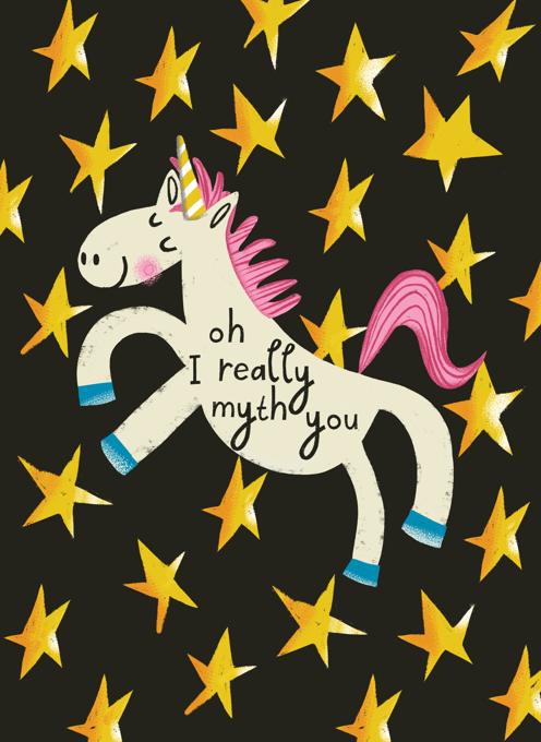 Oh I Really Myth You Unicorn