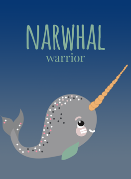 Narwhal Warrior