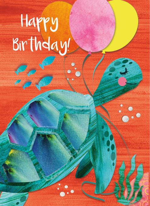 Turtle Happy Birthday