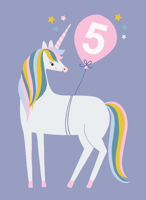Unicorn 5th Birthday