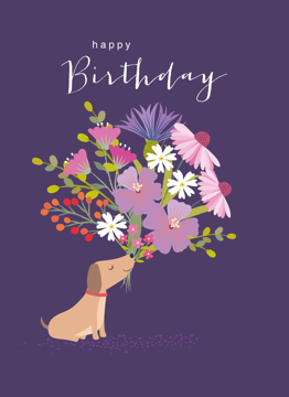 Birthday Dog Bouquet