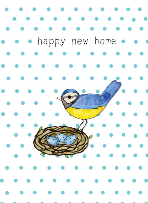 Happy New Home - Bird