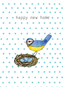 Happy New Home - Bird