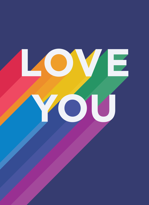 Rainbow Love You
