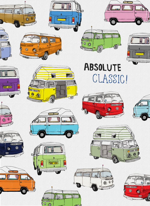 Absolute Classic Birthday Camper Vans