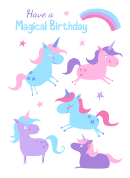 Magical Unicorns Birthday