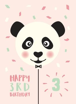 Panda 3rd Birthday