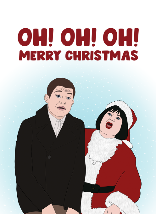 Gavin & Stacey Christmas Card - Oh! Oh! Oh!