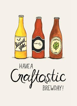 Have a craftastic brewday