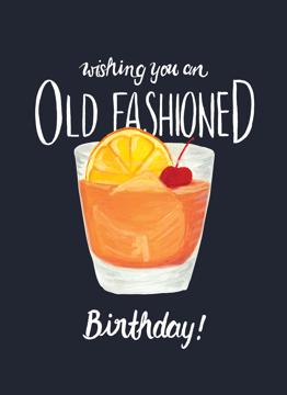 Old Fashioned Birthday