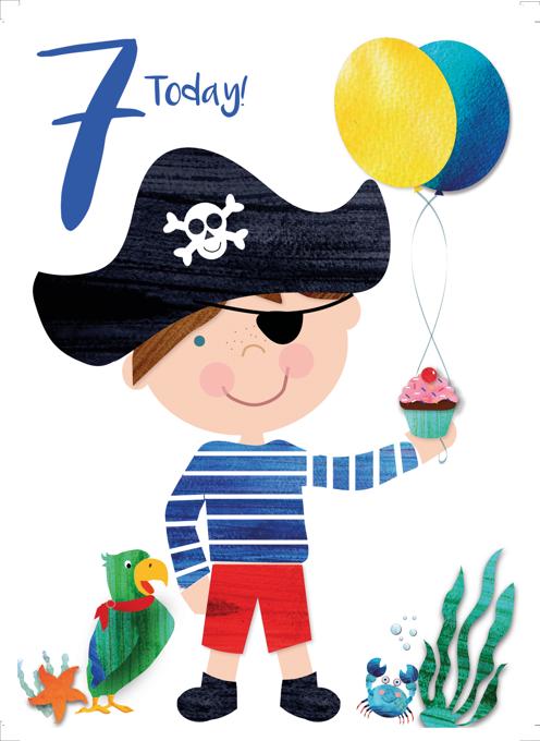 Age 7 Pirate Boy