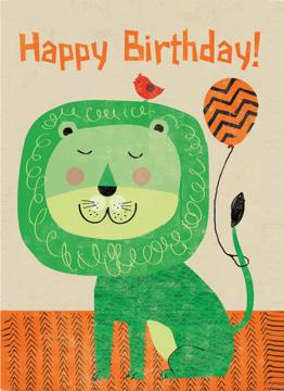 Happy Birthday Lion