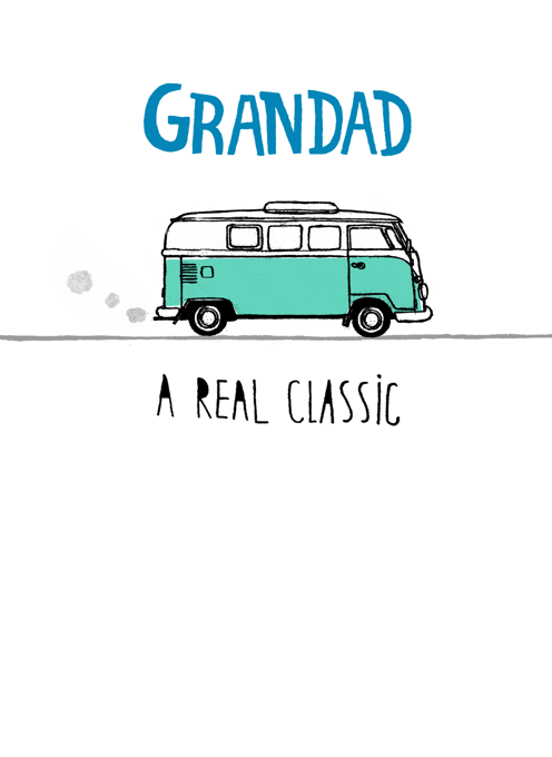 Grandad Camper Van