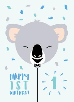 Koala First Birthday