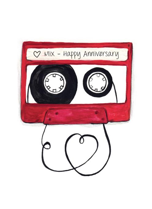 Anniversary Mix Tape - Love Mix