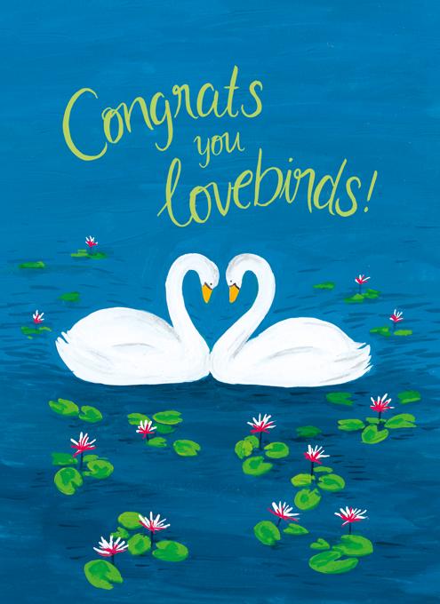 Congrats You Lovebirds