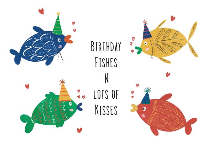 Happy Birthday Fishes