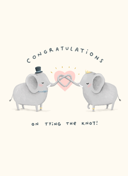 Congratulations On Tying The Knot