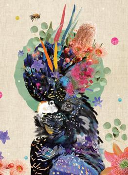 Native Grace - Black Cockatoo