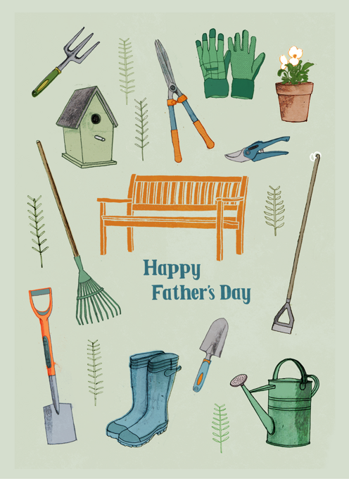 Father's Day Gardening