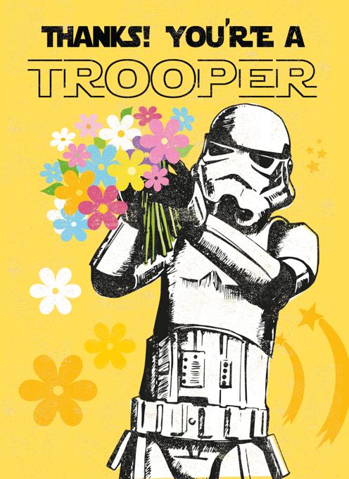 Thanks Stormtrooper
