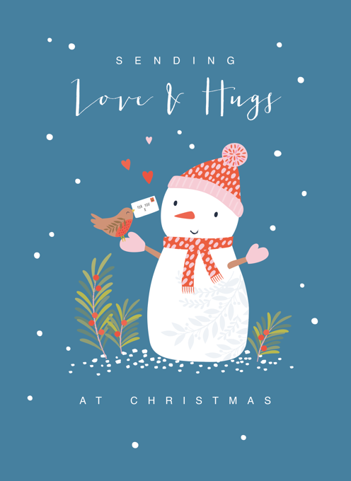 Love and hugs Snowman