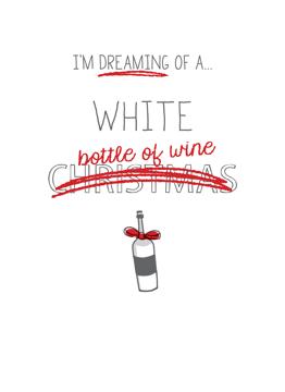 White Bottle of Wine