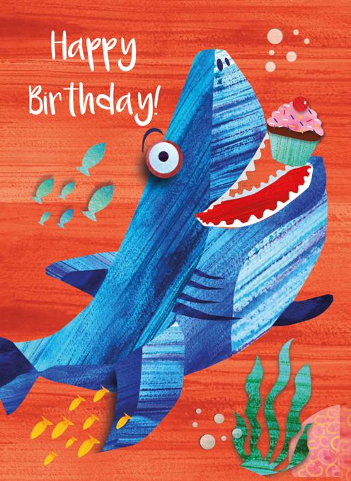 Shark Happy Birthday