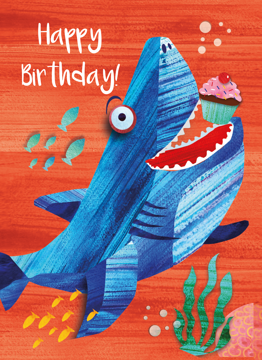 Shark Happy Birthday