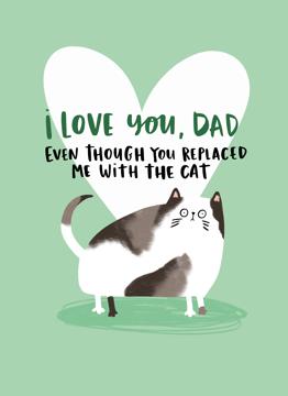 Love Cat Dad
