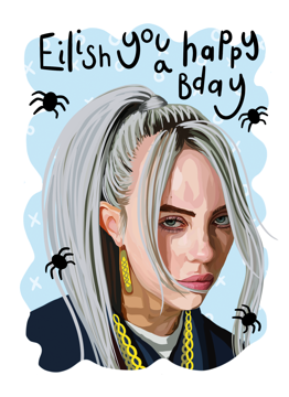 Billie Eilish Happy Birthday