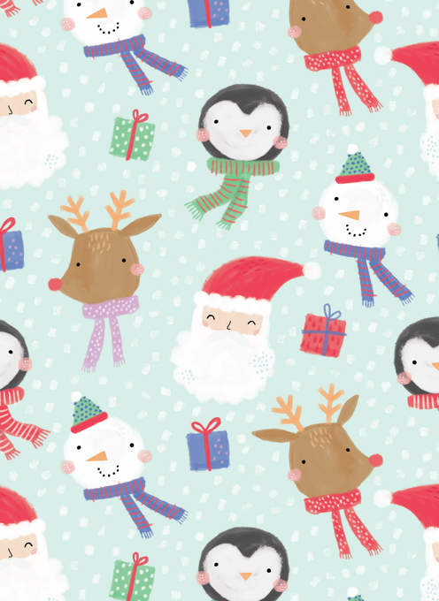 Happy Christmas Pattern