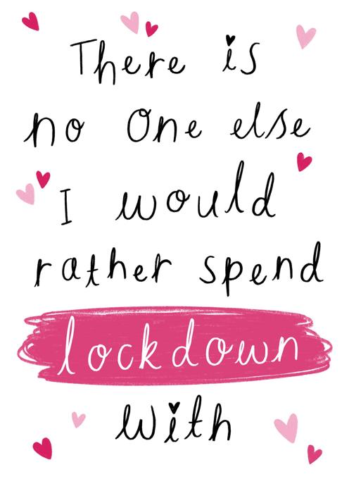 Lockdown Valentine