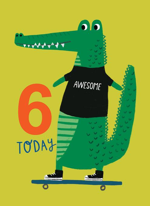 Crocodile 6th Birthday