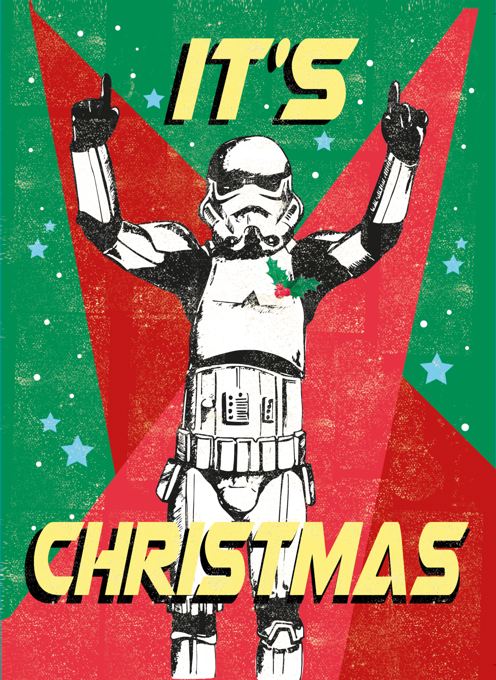 It's Christmas Stormtrooper Card