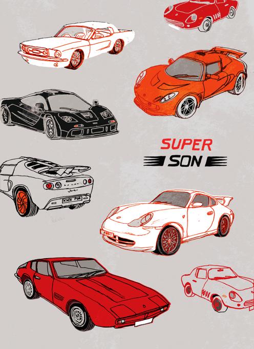 Sports Cars Super Son