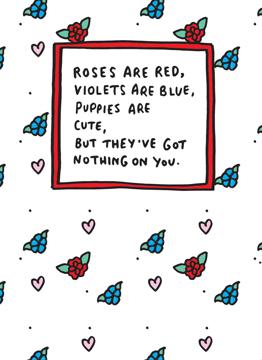 Roses Puppies
