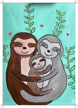 Three Sloths