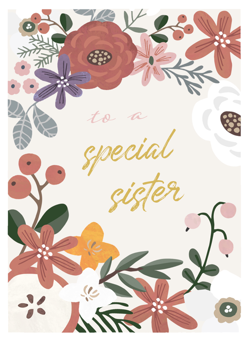 To A Special Sister